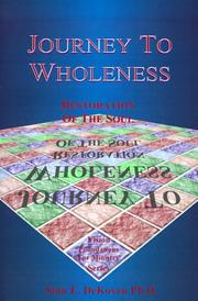 Cover of: Journey to Wholeness | Stan E. DeKoven