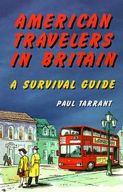 Cover of: American Travelers in Britain | Paul Tarrant