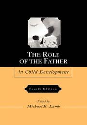Cover of: The Role of the Father in Child Development