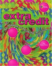 Cover of: Extra Credit: An Almanac of Thinking Activities