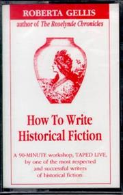 Cover of: How to Write Historical Fiction