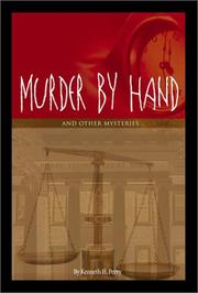 Cover of: Murder By Hand | Kenneth H. Perry