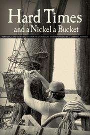 Cover of: Hard Times and a Nickel a Bucket