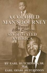 Cover of: A Colored Man