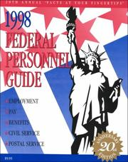 Cover of: 1998 Federal Personal Guide (Federal Personnel Guide) | Kenneth D. Whitehead