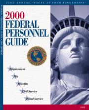 Cover of: 2000 Federal Personnel Guide  | Kenneth D. Whitehead