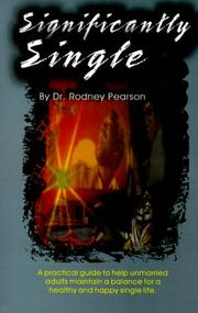 Cover of: Significantly Single | Rodney Pearson
