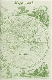 Cover of: Mappemonde