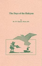 Cover of: The Days of Halcyon