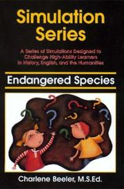 Cover of: Endangered Species | Charlene Beeler