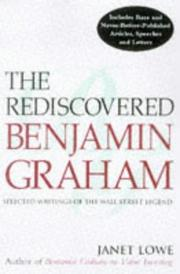 Cover of: The rediscovered Benjamin Graham: selected writings of the Wall Street legend