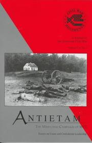 Cover of: Antietam: The Maryland Campaign of 1862  | Mark A. Snell