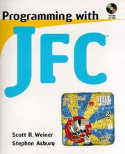 Cover of: Programming with JFC
