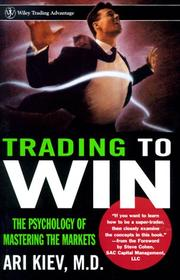 Cover of: Trading to win