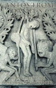 Cover of: Cantos from Dante's Inferno