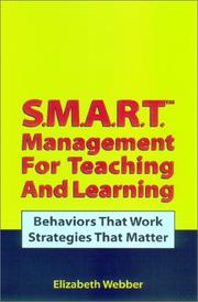 Cover of: S.M.A.R.T. Management for Teaching and Learning
