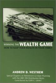 Cover of: Winning the Wealth Game | Andrew D. Westhem