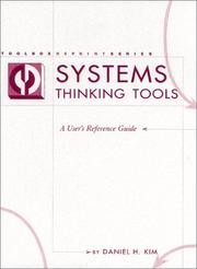 Cover of: Systems Thinking Tools | Daniel H. Kim