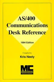 Cover of: AS/400 Communications Desk Reference