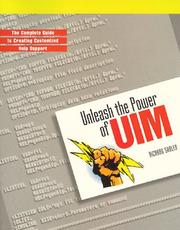 Cover of: Unleash the Power of Uim | Richard Shaler