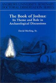 Cover of: The Book of Joshua | David Merling