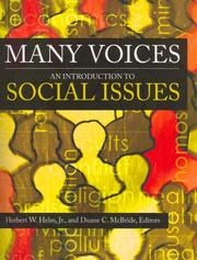 Cover of: Many Voices |