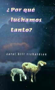 Cover of: Por Que Luchamos Tanto? (Why Do We Struggle So?)