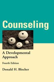 Cover of: Counseling