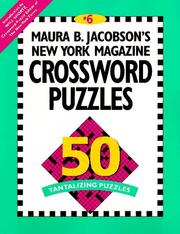 Cover of: Maura B. Jacobson