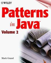 Cover of: Patterns in Java, Volume 2 | Mark Grand