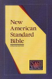 Cover of: NASB Update Side-Column Reference; Black Bonded Leather; Indexed |