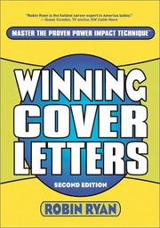 Cover of: Winning Cover Letters