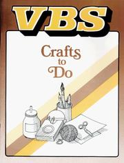 VBS Books, Crafts to Do