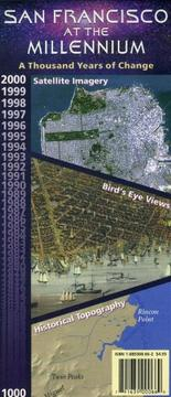 Cover of: San Francisco At the Millenium Map | Inc Hedberg Maps