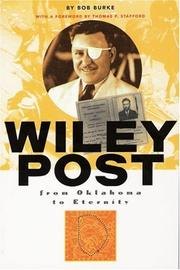 Cover of: Wiley Post; From Oklahoma to Eternity
