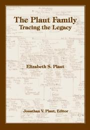 Cover of: The Plaut Family | Elizabeth S. Plaut