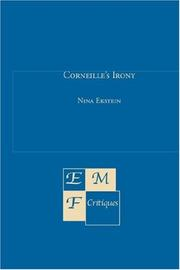 Corneille's Irony by Nina Ekstein