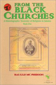 Cover of: From the Black Churches