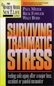 Cover of: Surviving Traumatic Stress | Paul Meier