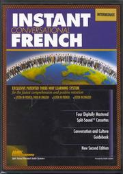 Cover of: Instant French Intermediate (Instant Language Courses) | William Henning