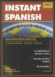 Advanced Instant Conversational Spanish (Instant Language Courses)