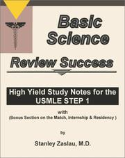 Cover of: Basic Science Review Success | STANLEY ZASLAU