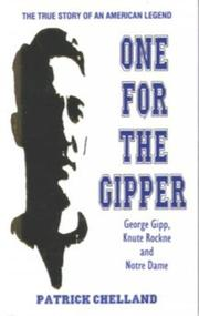 Cover of: One for the Gipper | Patrick Chellan