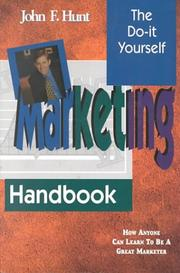 Cover of: The Do It Yourself Marketing Handbook