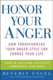 Honor Your Anger by Beverly Engel