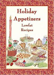 Cover of: Holiday Appetizers