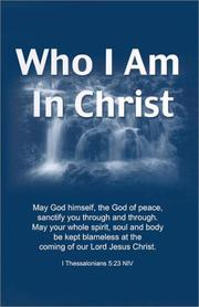 Cover of: Who I Am in Christ [10-Pack] |