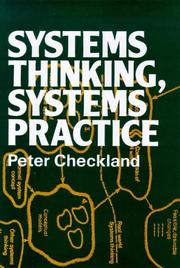 Cover of: Systems thinking, systems practice