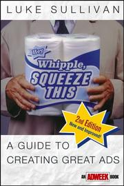 Cover of: Hey, Whipple, squeeze this | Luke Sullivan
