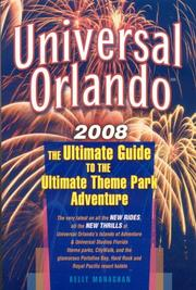 Cover of: Universal Orlando 2008 | Kelly Monaghan